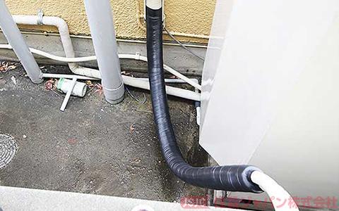 エコキュートの浴室配管の接続6