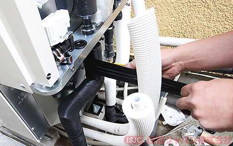 ヒートポンプユニット配管の接続6